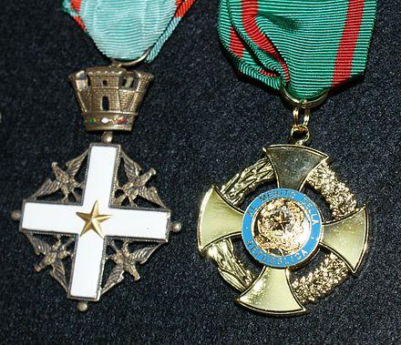 L'Ordine al Merito della Repubblica italiana (OMRI)  il 3 marzo compie 70 anni.