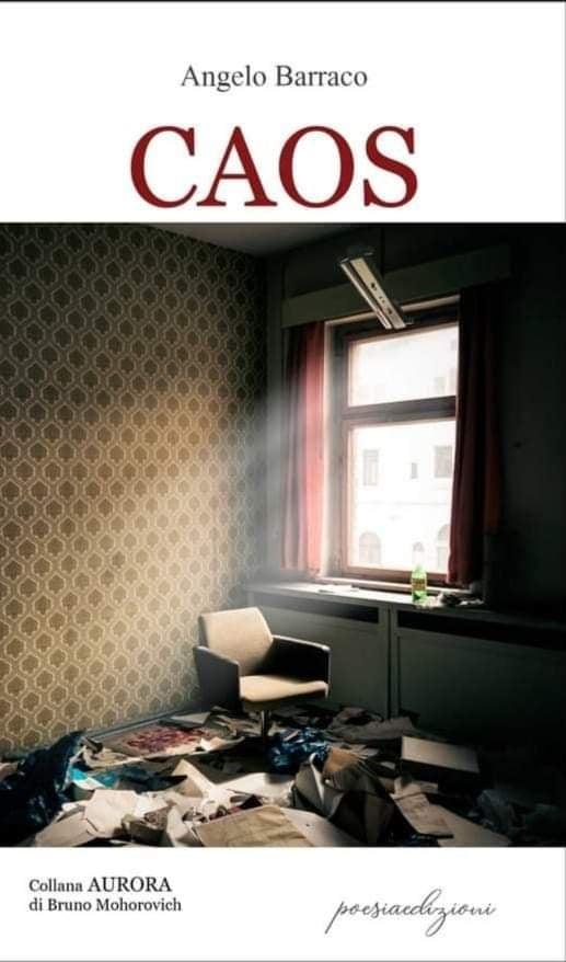 """Messina, """"Caos"""" Il libro di poesie  del giornalista e scrittore Angelo Barraco"""