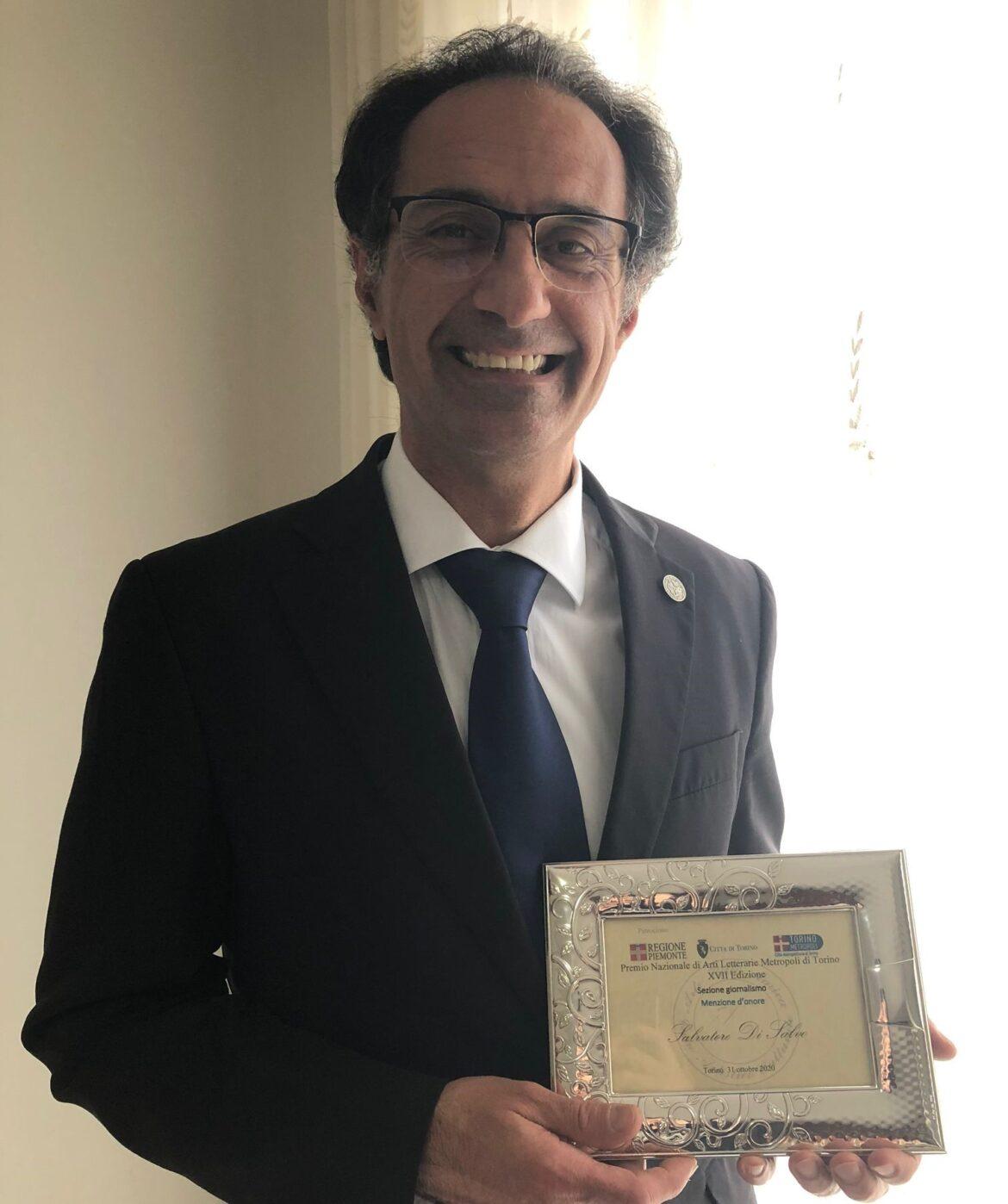 """Torino, al giornalista Salvatore  Di Salvo  la  prima edizione del premio giornalistico """"Gianni Ferraro"""""""