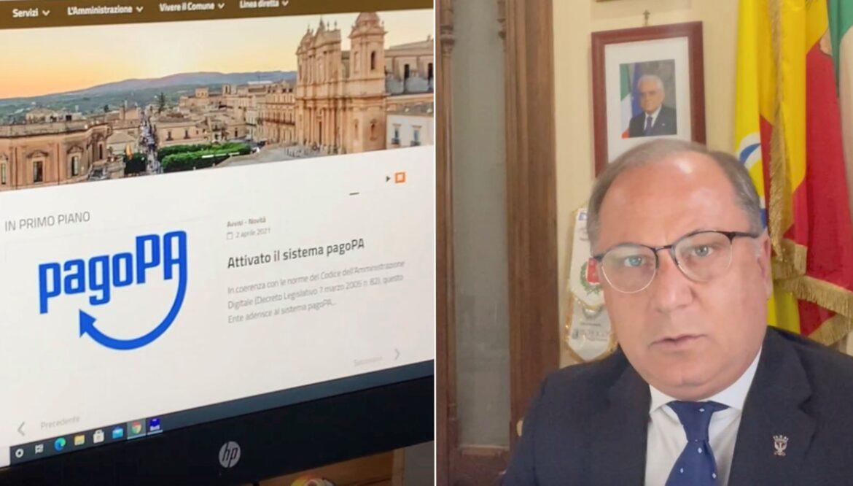 Noto, Attivato PagoPa, un altro passo verso la digitalizzazione dei servizi
