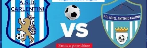 Calcio: la partita Carlentini – Aci S. Antonio in diretta facebook sulla pagina di Radio Una Voce Vicina