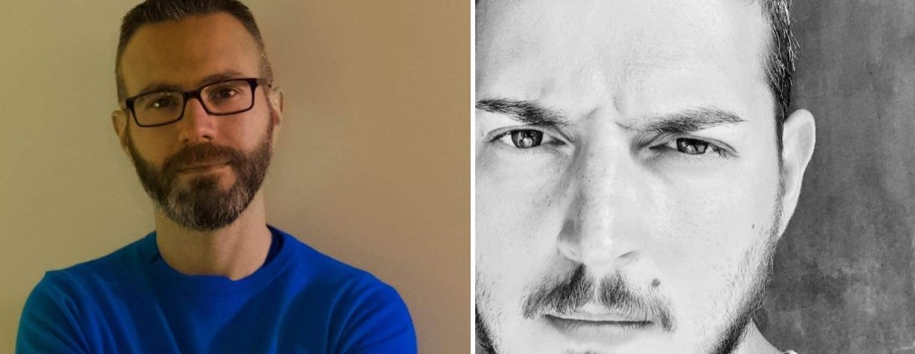 Una Voce In Blu. Il fotografo Luca Pizzuto e il cantautore Vincenzo Puccio ospiti giovedì 15 aprile