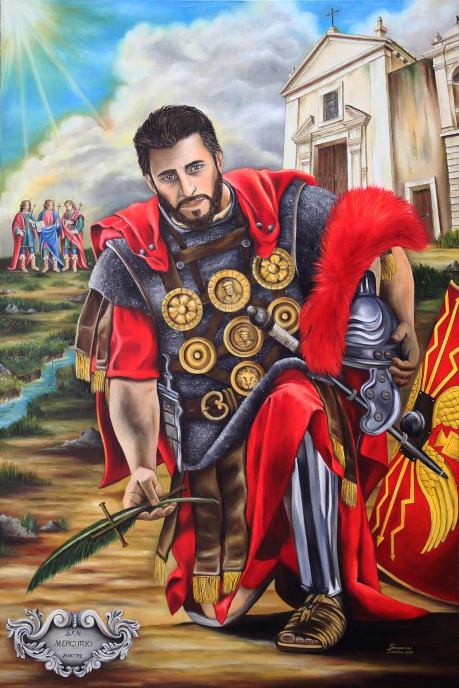 Lentini, Un nuovo dipinto per il Santuario Diocesano dei Santi Martiri.