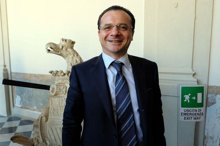 Messina, il sindaco  Cateno De Luca in campagna elettorale per governare Sicilia