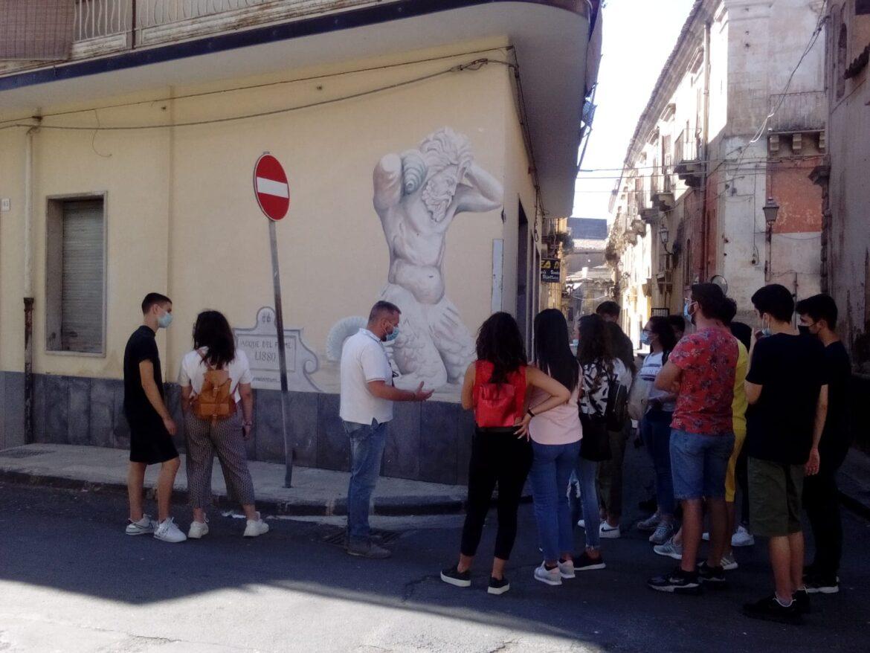 """Lentini, Pon Alaimo """"I  Luoghi del Cuore"""", gli studenti visitano Palazzo Scammacca"""