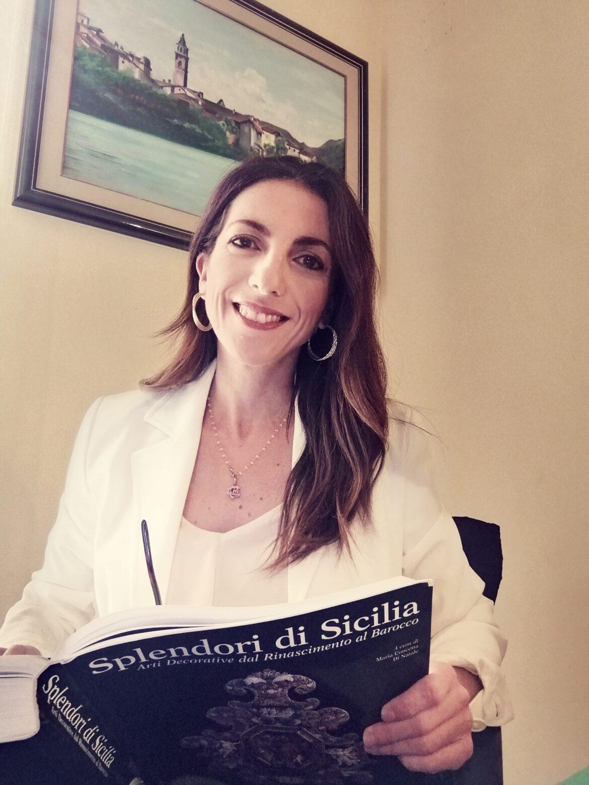 Lentini, Corinne Valenti – professione guida turistica