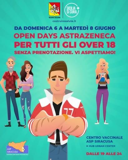 Palermo, Covid, una tre giorni di porte aperte agli over 18 per vaccino AstraZeneca