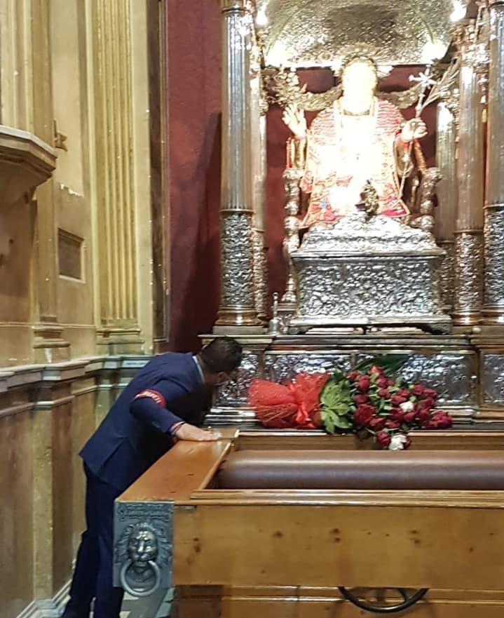 Si conclude il triennio per Enzo Cottone, primo spingitore della vara di Sant'Alfio