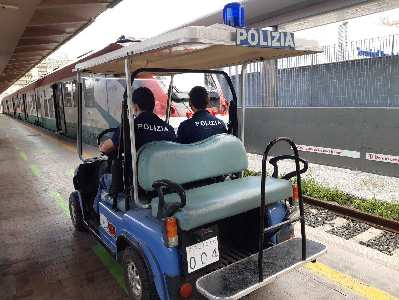 Oltre 3.600 persone controllate dalla Polizia di Stato nelle stazioni ferroviarie e a bordo dei treni della Sicilia