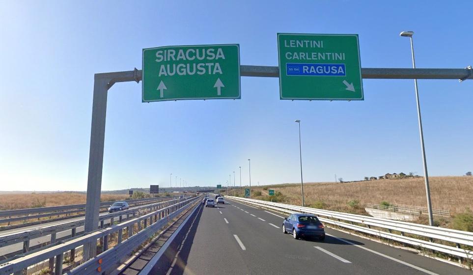 Lavori sulla Siracusa-Catania: da lunedì chiuse le rampe in uscita allo svincolo di Lentini