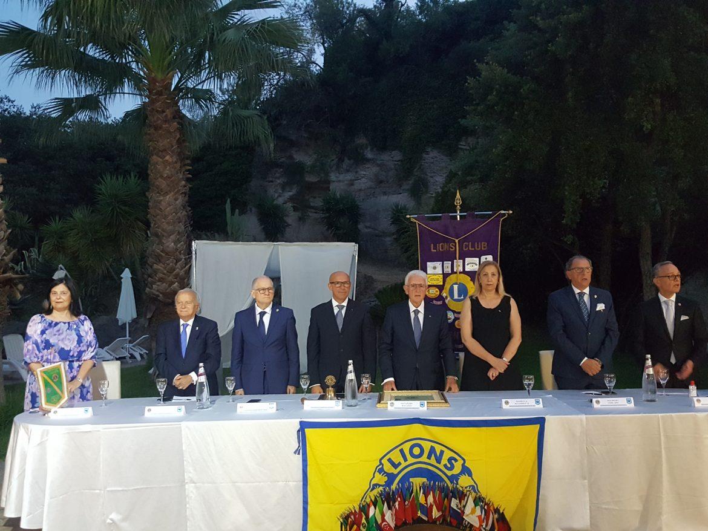 """Lentini, 52 charter night del Lions. Il presidente Angelo Lopresti: """" Solidarietà e collaborazione per  dare ampio respiro al """"we serve""""."""