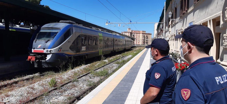 Oltre 3.100 persone controllate dalla Polizia di Stato nelle stazioni ferroviarie e a bordo dei treni della Sicilia