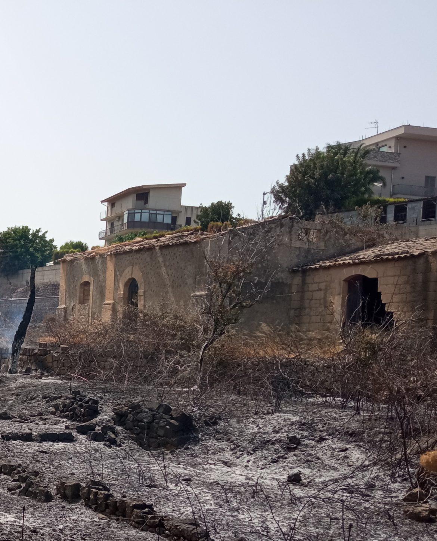 Incendi: E' emergenza a Francofonte