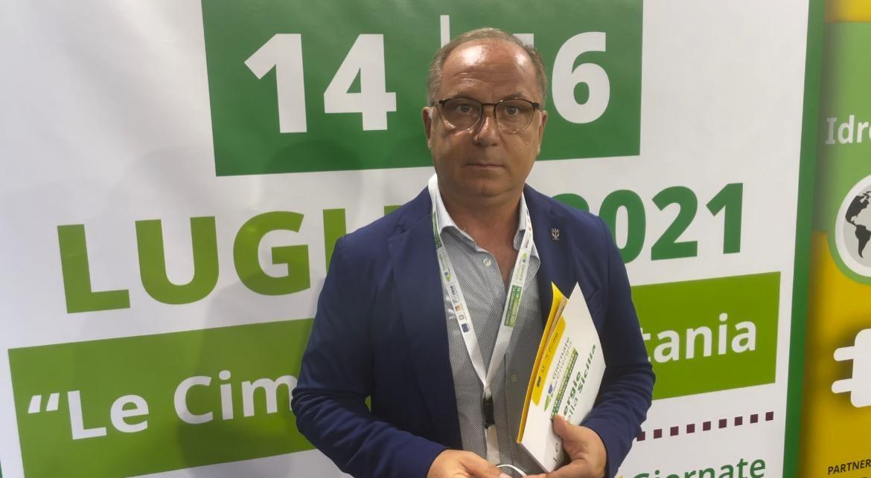 """Noto. il sindaco Corrado Bonfanti alla giornata inaugurale di """"Energie della Sicilia"""""""