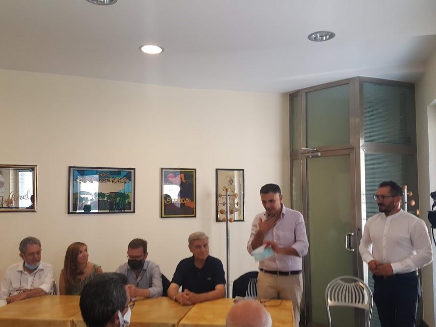Il vice segretario nazionale del Pd Peppe Provenzano a Lentini a sostegno del candidato sindaco Rosario Lo Faro  per tirare la volata al