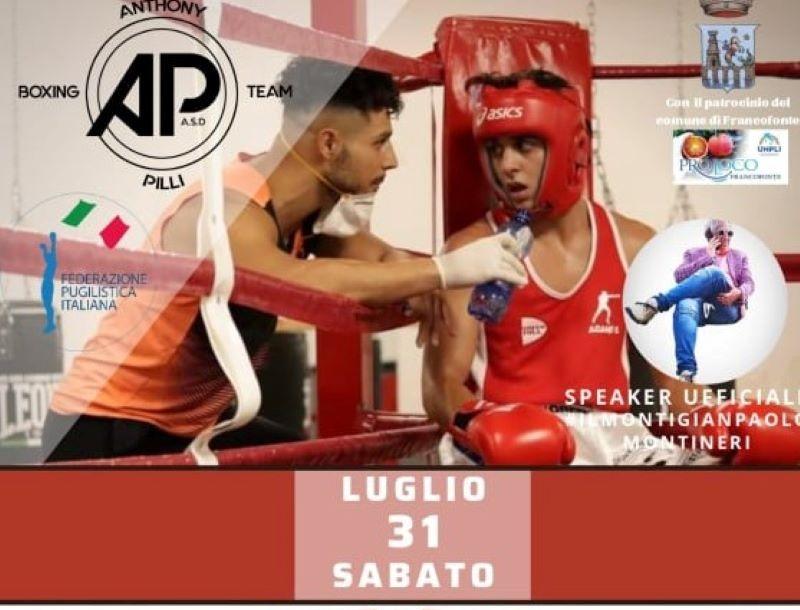 """Francofonte, il 31 luglio torna la boxe con il """"II° Trofeo Pugilistico Maria SS. della Neve"""""""