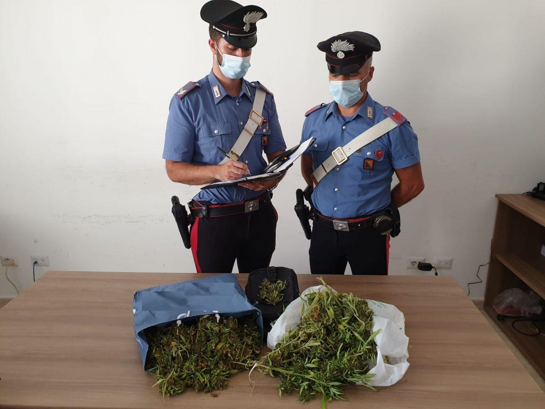 Carlentini, i carabinieri arrestano un minorenne per droga