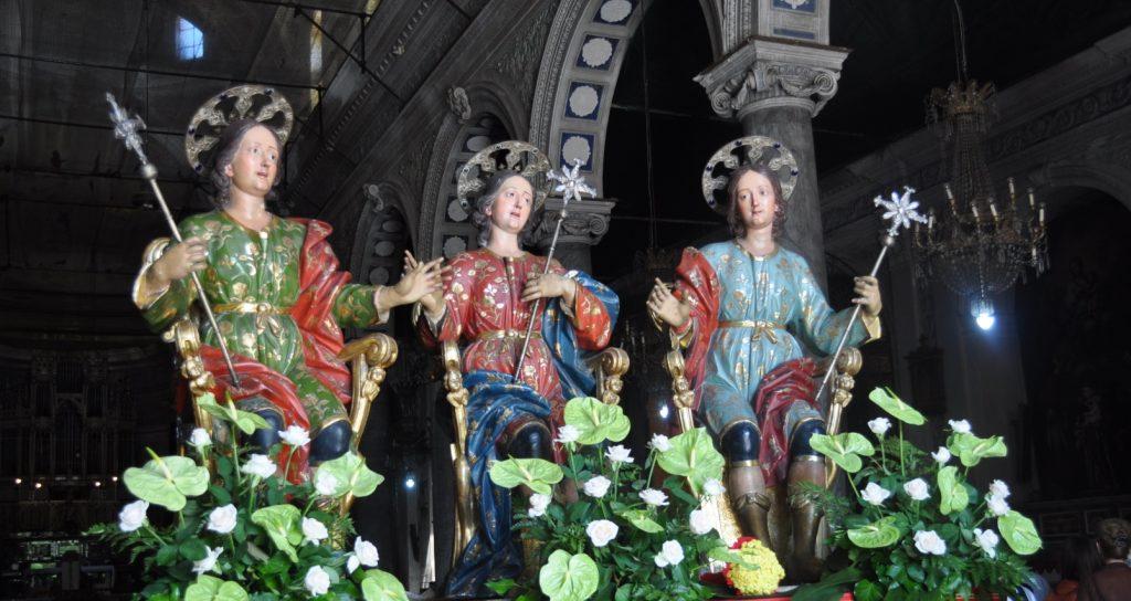 Lentini: Domani e giovedì la festa della Traslazione delle Reliquie dei Santi Martiri Alfio, Filadelfo e Cirino
