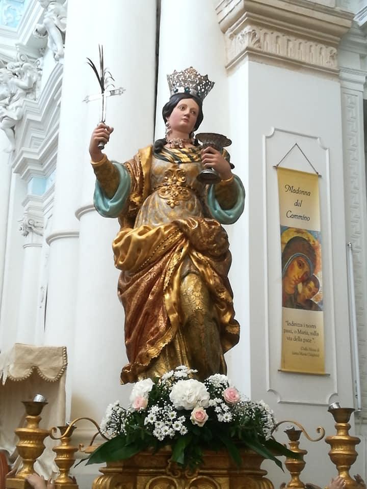 Sortino: Vigilia della 486° festa di Santa Sofia. Stasera il Sindaco accenderà il tradizionale cero votivo