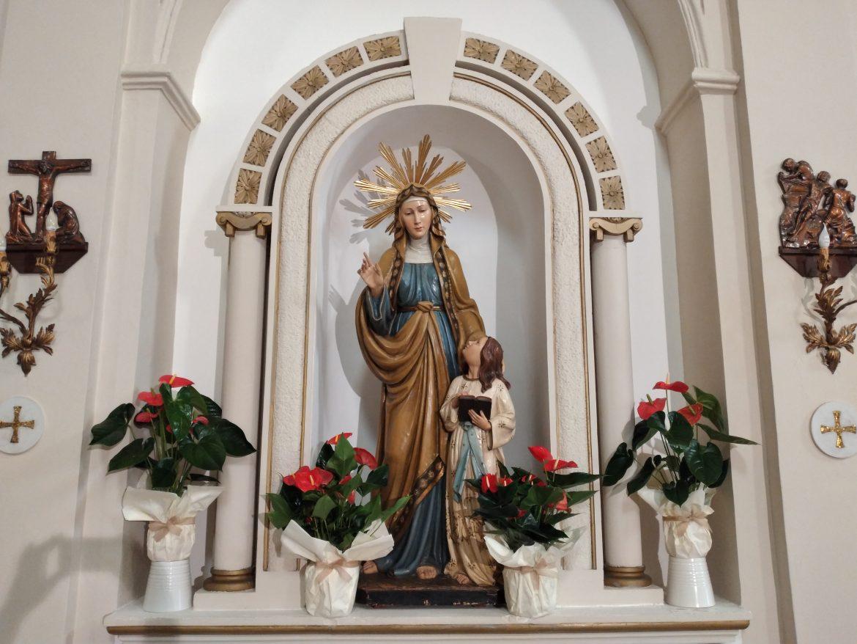 Belvedere: Stasera, con la benedizione dei bambini nati in quest'anno, si conclude la festa di Sant'Anna