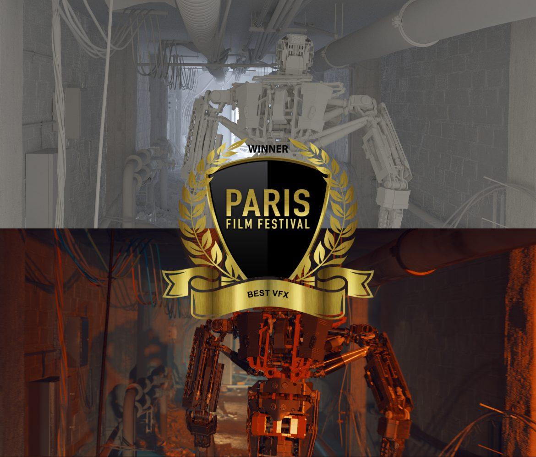 Francofonte.  Il filmmaker Marco Castiglione vince il best VFX Award al Paris Film Festival