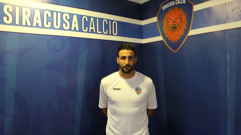 """Asd Città di Siracusa, riecco il centrocampista Fabio Sciacca """"Aiuterò la squadra a raggiungere risultati importanti"""""""