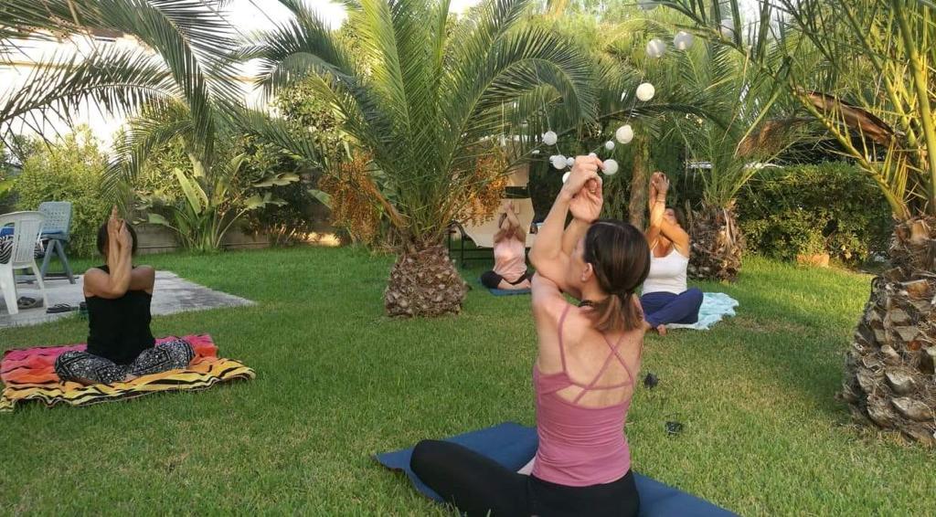 Una lezione yoga è un'elevazione dell'essere