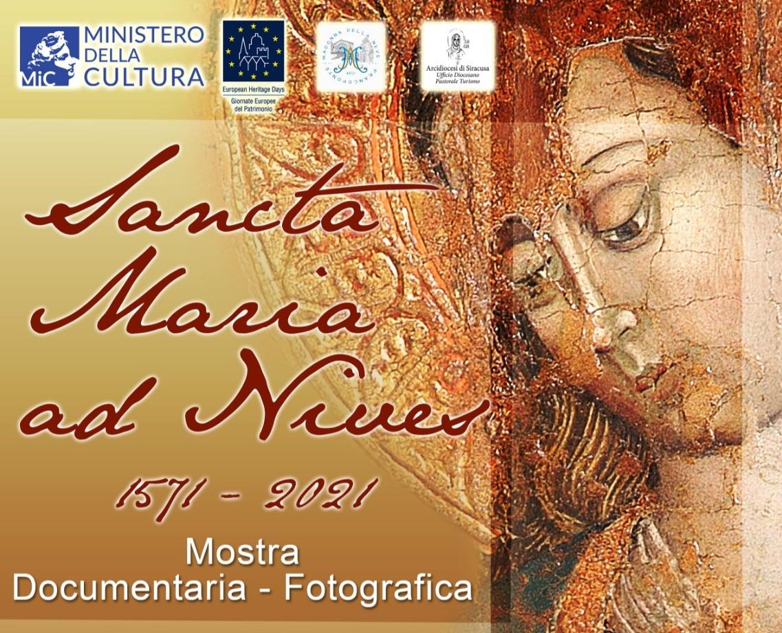 """Siracusa. Il 25 settembre sarà presentata la mostra """"Sancta Maria Ad Nives"""""""