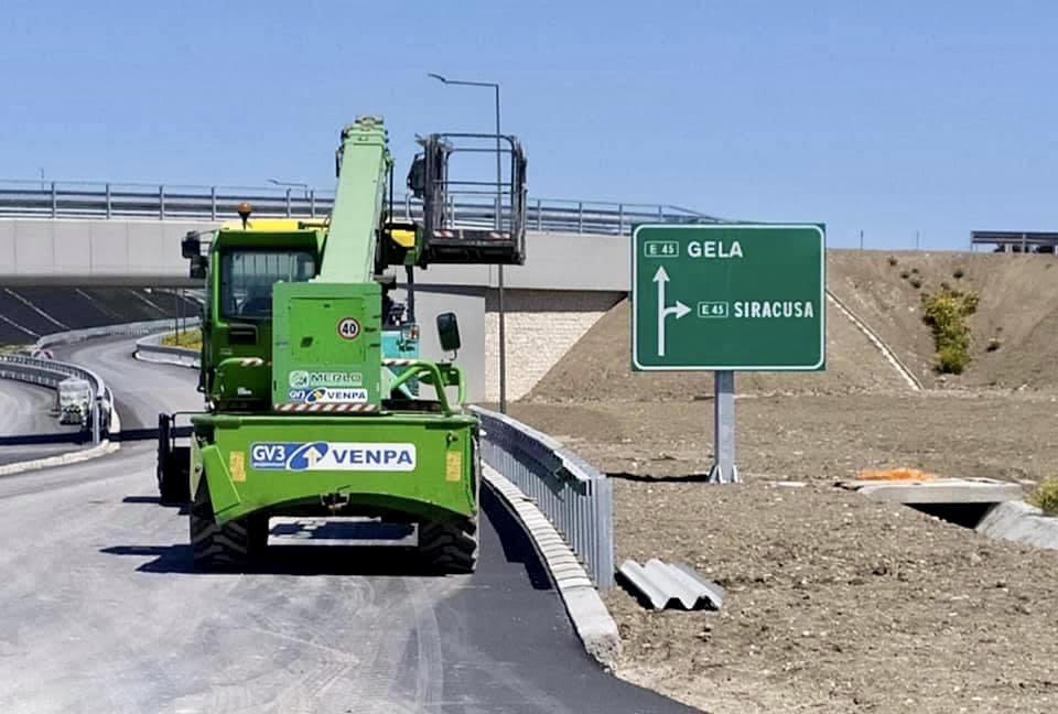 Siracusa-Gela: sopralluogo domani ai cantieri con i vertici di Autostrade Siciliane, l'assessore Falcone, parlamentari e sindaci