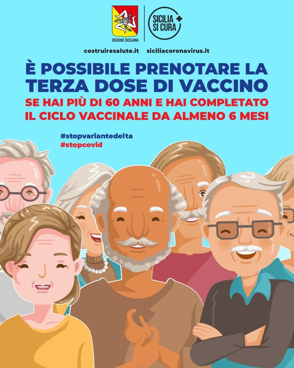 Vaccini: terze dosi, al via la prenotazione per gli over 60