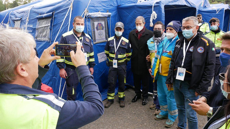 Pergusa, Giornate del volontariato siciliano, esercitazione di Protezione civile un successo di tutto il sistema regionale