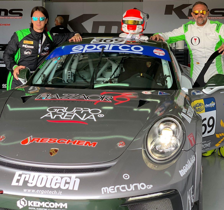 QUARTA TAPPA NELLA SPRINT SERIES  DEL CAMPIONATO ITALIANO GT (CLASSE GT CUP), LA MAZZA E NICOLOSI IN GARA AL MUGELLO  DAL 8 AL 10 OTTOBRE