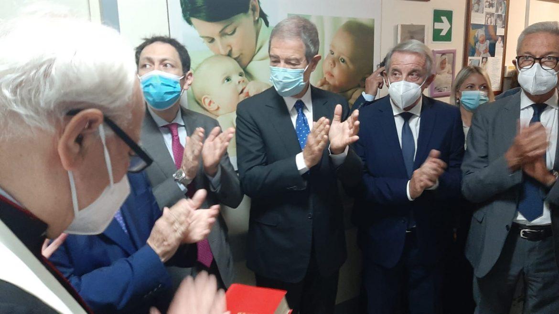 Catania, Musumeci inaugura la Banca del Latte Umano Donato Al Garibaldi la terza struttura di questo tipo in Sicilia