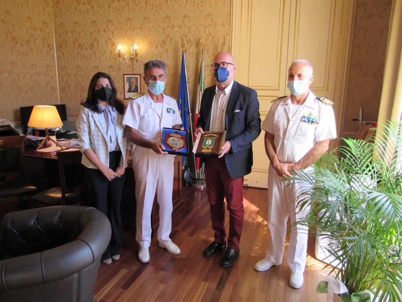 Visita alla Capitaneria di Porto-Guardia Costiera di Augusta del Direttore Marittimo della Sicilia Orientale, Contrammiraglio Giancarlo Russo